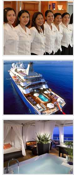 Mega Yacht Cruising