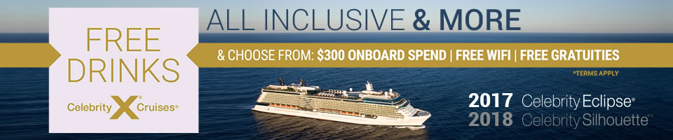 2017 Celebrity Cruises from Southampton