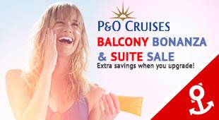 P&O Cruises Balcony Bonanza & Suite Sale