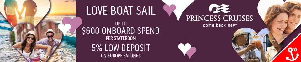 Princess Cruises - Love Boat Sail