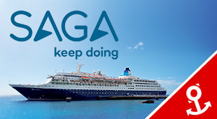 Saga Cruises from Southampton
