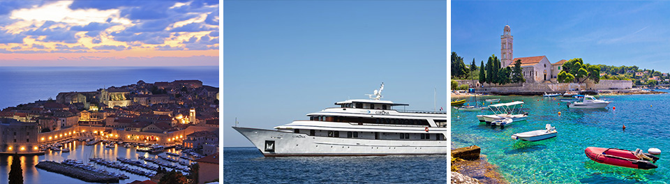 Dubrovnik, MV Corona & Hvar