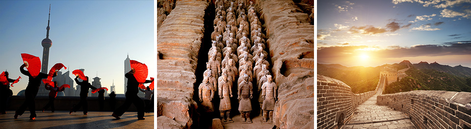 Flag Dancers, Terracotta Warriors & The Great Wall of China