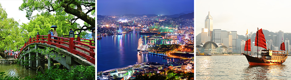 Hong Kong & Japan Cruise and Stay