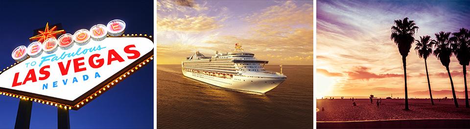 Las Vegas & Californian Coastal Cruise