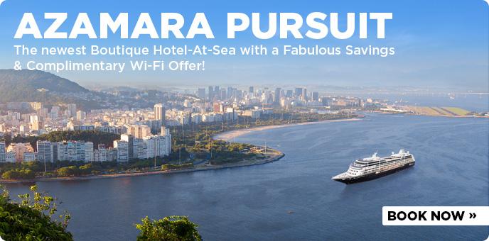 Azamara Pursuit on sale now