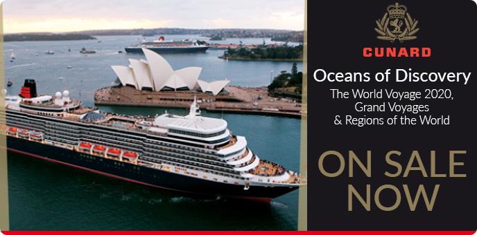 Cunard World Cruise 2020