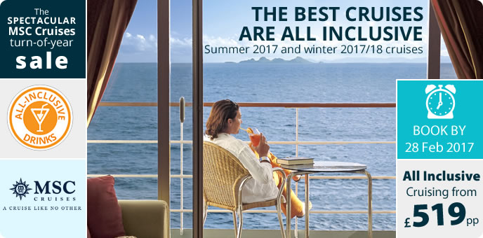 MSC Cruises - All Inclusive Drinks