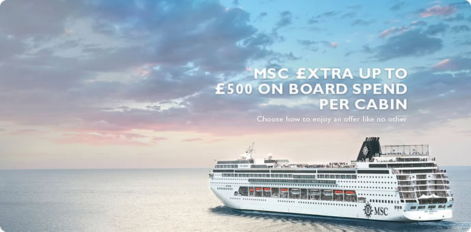 MSC Cruises - Spending Money