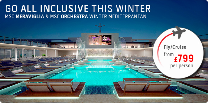 MSC Cruises - Winter Med All Inclusive