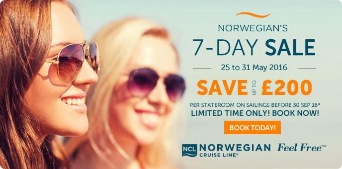 Norwegian Cruise Line - Summer Sale