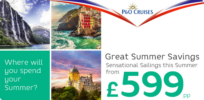 P&O Cruises Sale