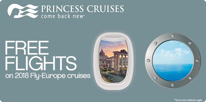 Princess Cruises - Balcony for Oceanview upgrade