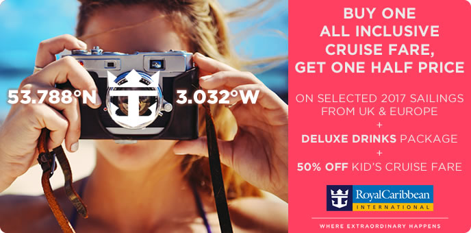 Royal Caribbean 2017 Cruises