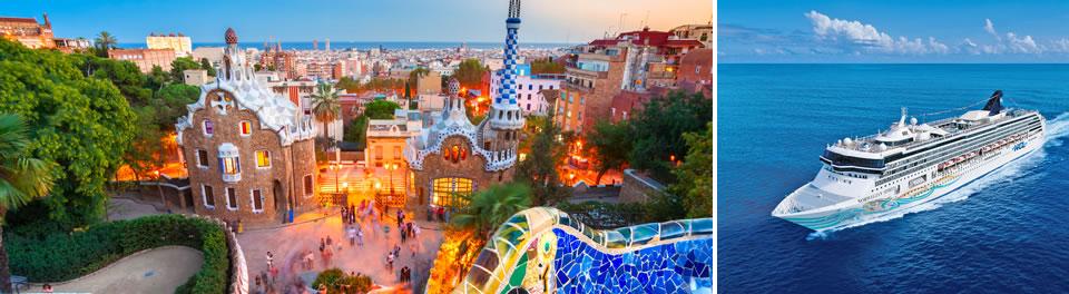 Norwegian Spirit & Barcelona