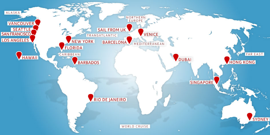 Cruise Destinations 2018 2019 Cruise Itineraries