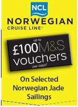 Norwegian Jade Exclusive M&S  Badge
