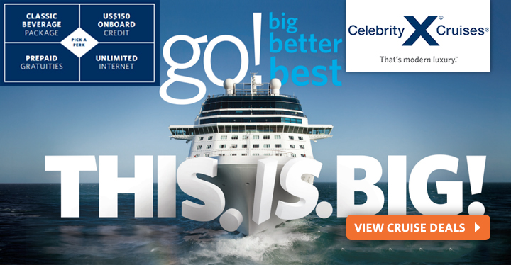 Celebrity Cruises from Vision Cruise
