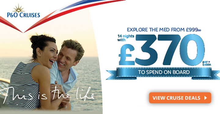 P&O Cruises from Vision Cruise