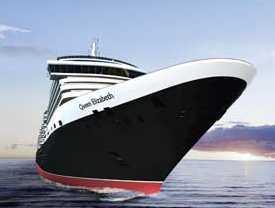 This is Cunard line's Queen Elizabeth ship.