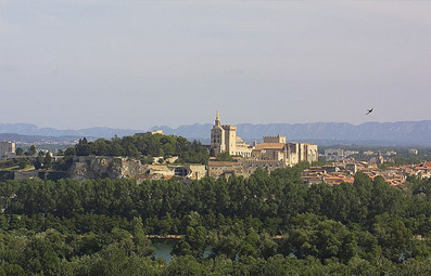 End your cruise in Avignon, France