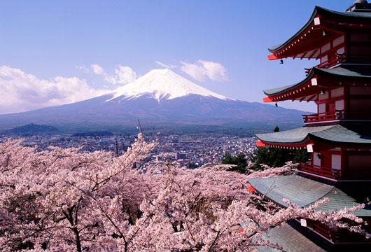 Visit the impressive Mount Fuji