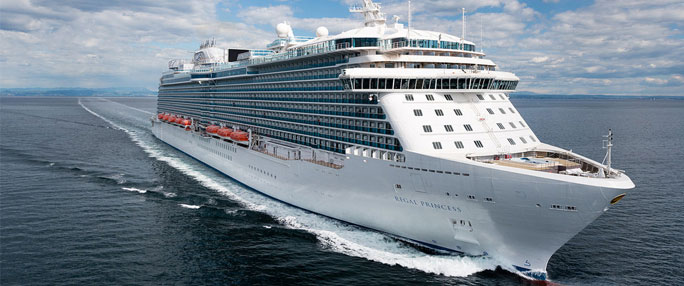 Líneas de Cruceros: Princess Cruises, Holland America y Cunard Cruise Line