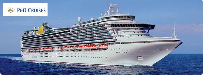 P & O Ventura Cruise Ship