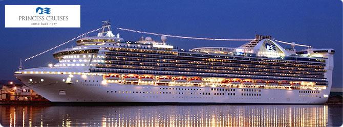 Princess Cruise Line Caribbean Princess Ship