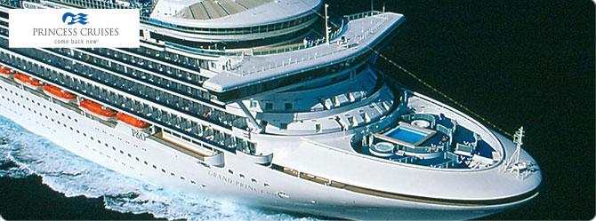 Princess Cruise Line Grand Princess Ship