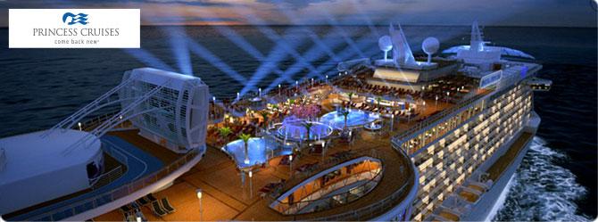 Princess Cruise Line Regal Princess Ship