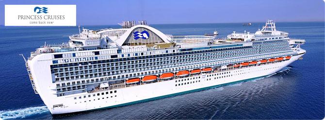 Princess Cruise Line Ruby Princess Ship