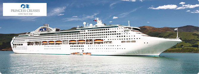 Princess Cruise Line Sun Princess Ship