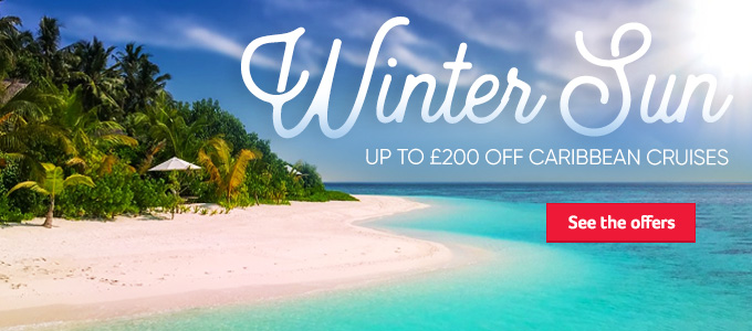 Generic | Winter Sun | Up to £200 off Caribbean Cruises