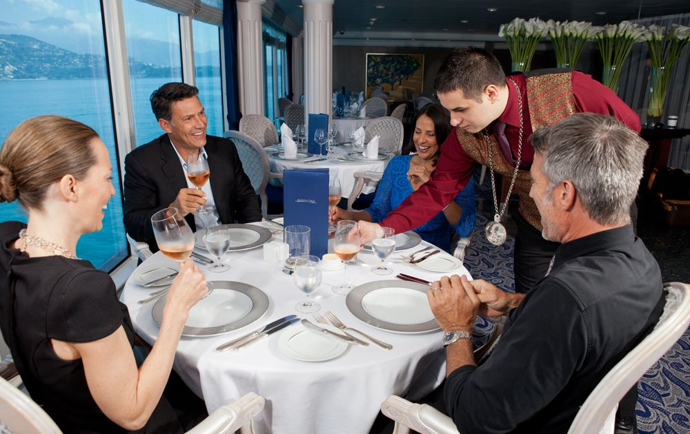 Restaurante Aqualina Azamara Club Cruises
