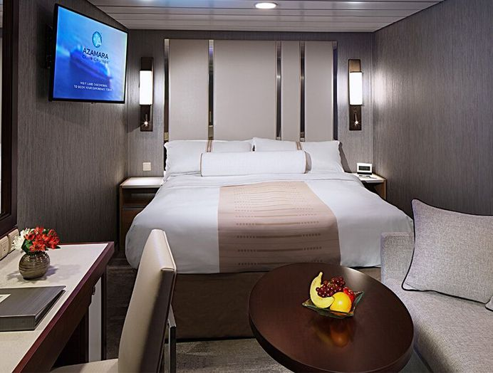 Cabina interna en Azamara Club Cruises