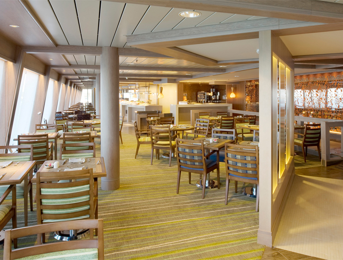 Lido Café de Crystal Cruises