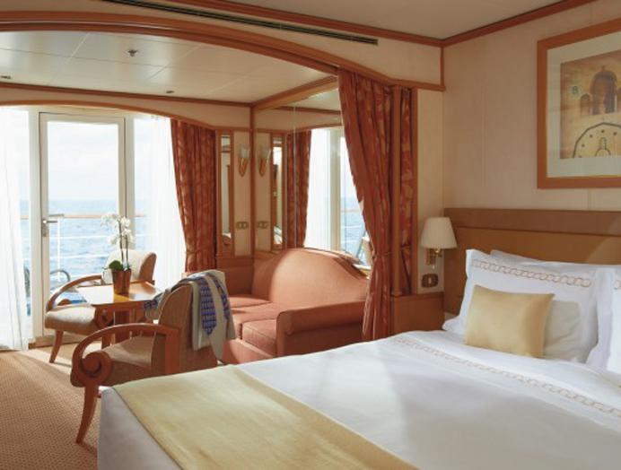 Midship Veranda Suite Silversea
