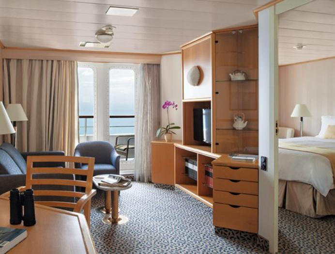 Medallion Suite en Silversea
