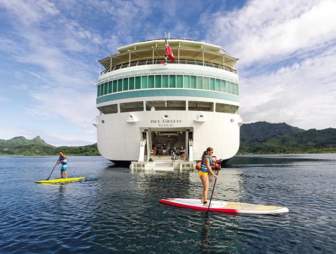 Equipo de deportes acuáticos marina