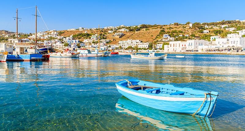 Cruceros por Mykonos, Grecia