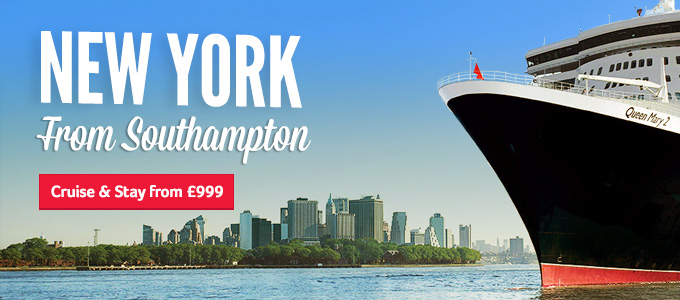Generic | New York from Southampton | Cruise & Stay from £999