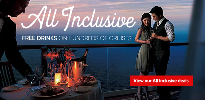 Generic | All Inclusive | Free drinks on hundreds of cruises