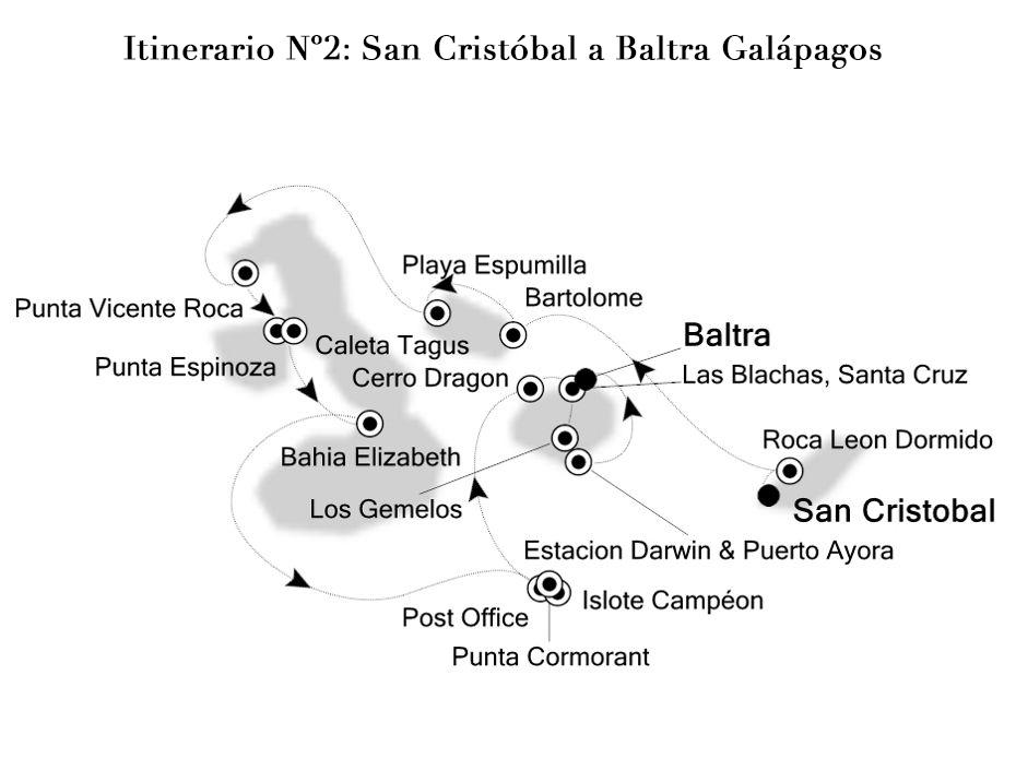 Cruceros por Islas Galápagos