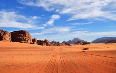 4x4 Tour in Wadi Rum