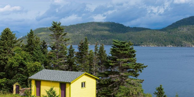 Secluded Islands and Bays of Eastern Canada