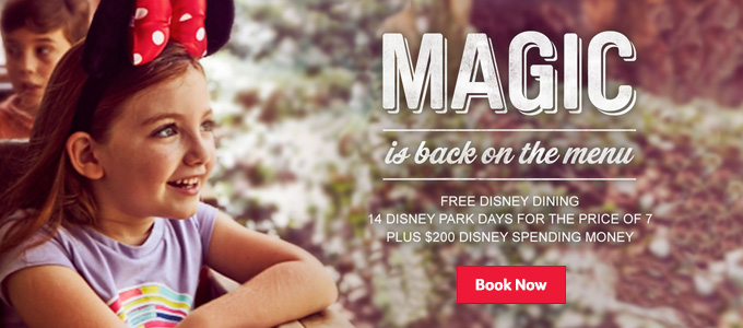 Generic | Magic is back on the menu | Book now