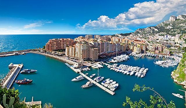 Spain, Monaco and Italy