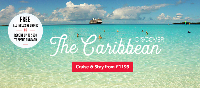Generic | Discover the Caribbean - Free All Inclusive or $600 OBC | Cruise & Stay from £1199