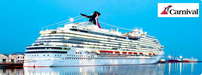Carnival Cruise Ship - Cruise1st Australia